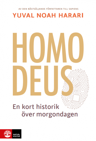 Swedish cover Homo Deus
