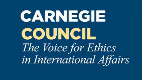 Podcast at the Carnegie Council