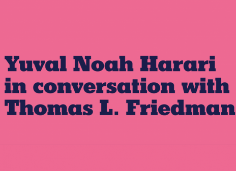 Tom Friedman London Event