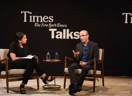 The Times Talks - Yuval Noah Harari on Stage with Bari Weiss