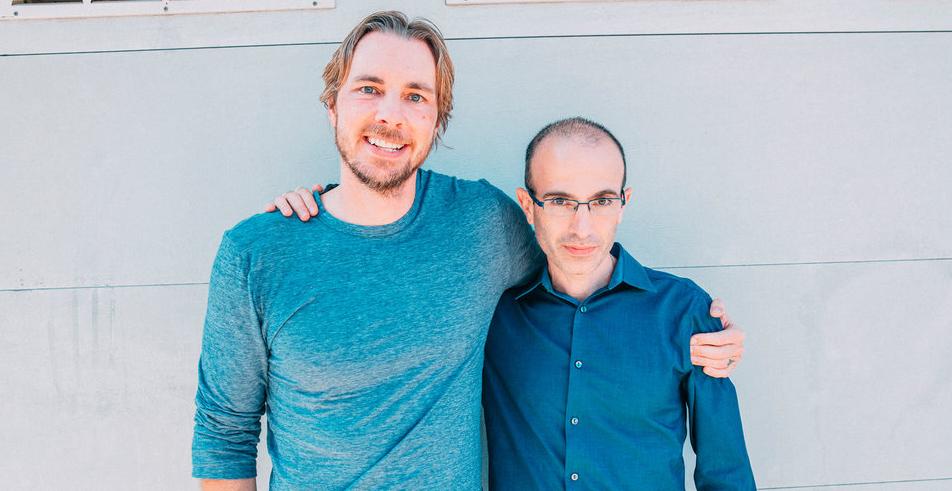 Dax Shepard and Yuval Harari