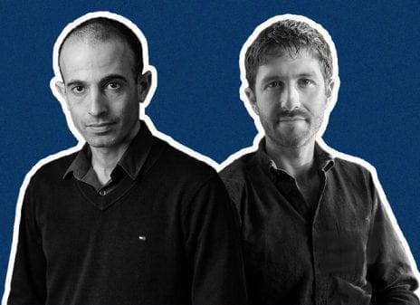 Yuval Noah Harari and Tristan Harris