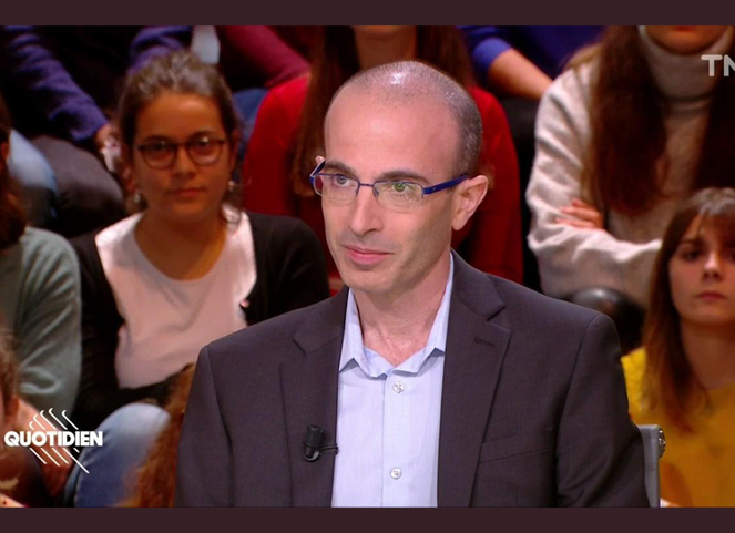 Yuval on Quotidien with Yann Barthes